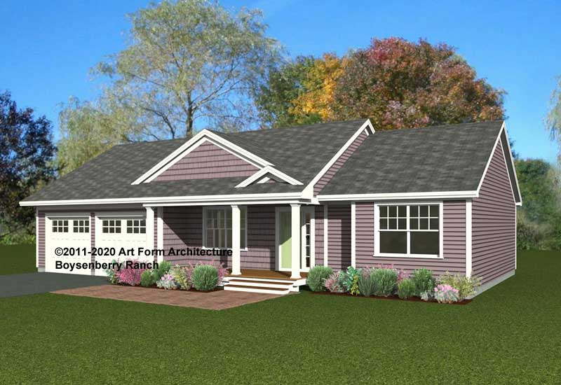 Boysenberry Ranch Home Design